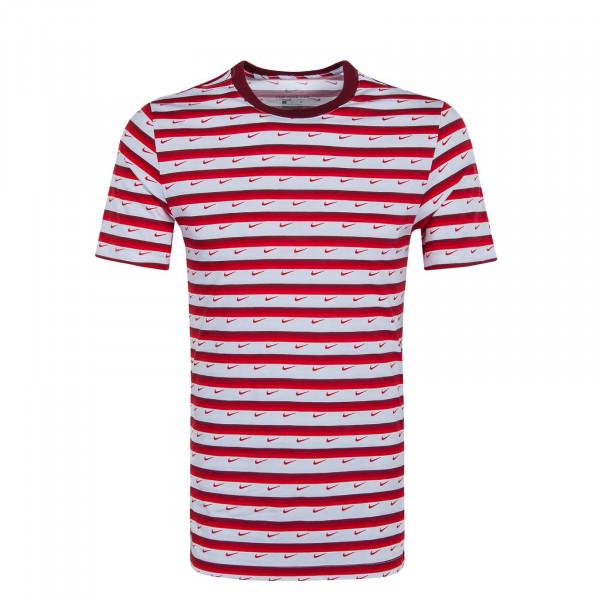 Herren T-Shirt Club Stripe CV9867 Red White