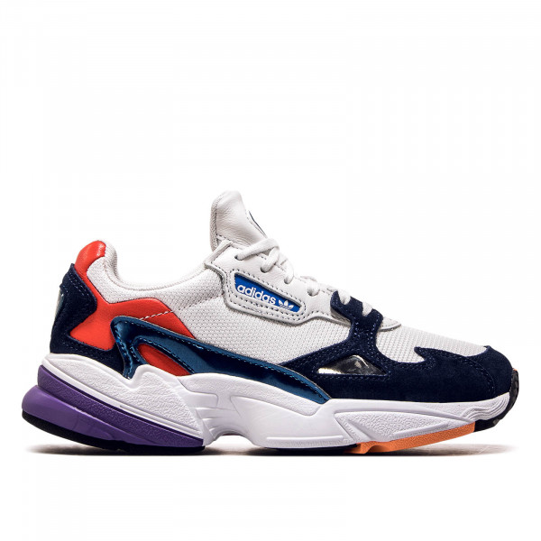 Adidas Wmn Falcon White Navy Red