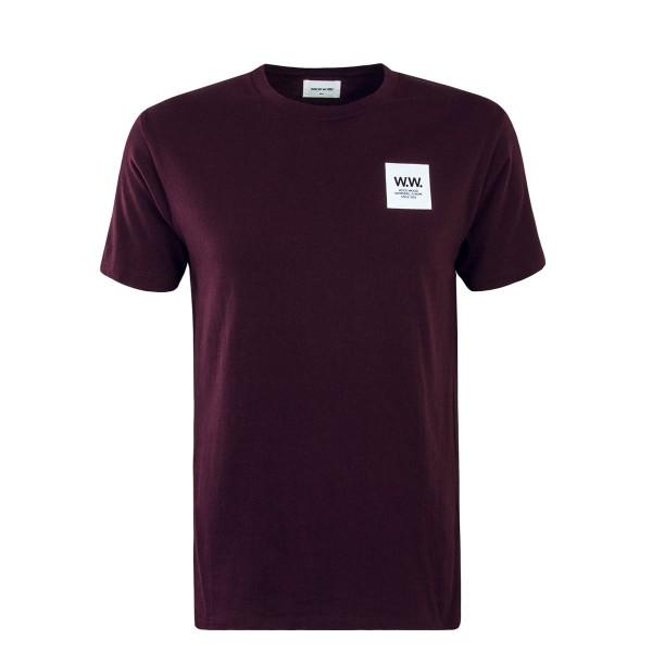WoodWood T-Shirt Box Bordeaux