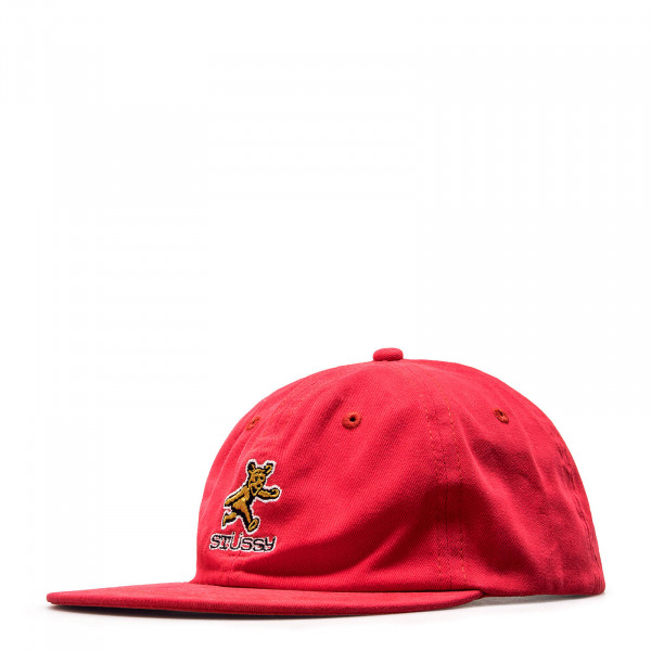 Stüssy Cap Bear Strapback Red