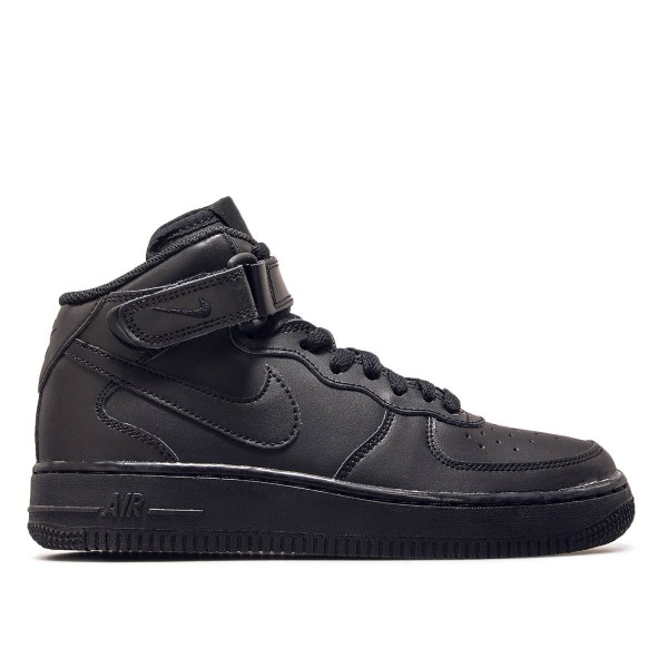 Nike Air Force 1 GS Mid 06 Black Black