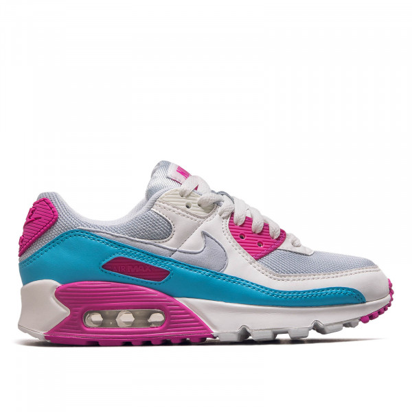Damen Sneaker Air Max 90 Football Grey/ Summit White/ Fire Pink