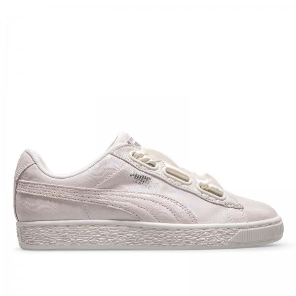 Puma Wmn Basket Heart NS White Silver