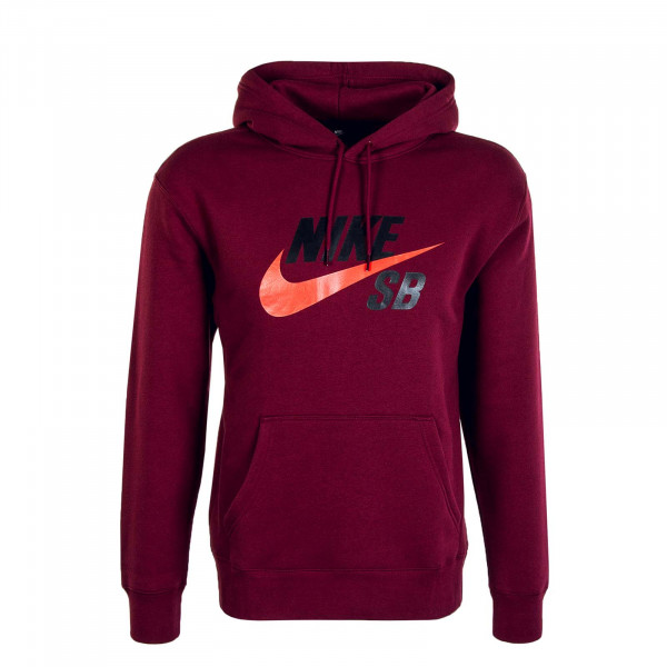 Herren Hoody Icon Dark Bordeaux Red