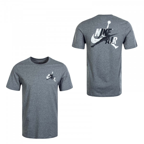 Herren T-Shirt Jumpman CLSCS Graphic Tee Carbone Black