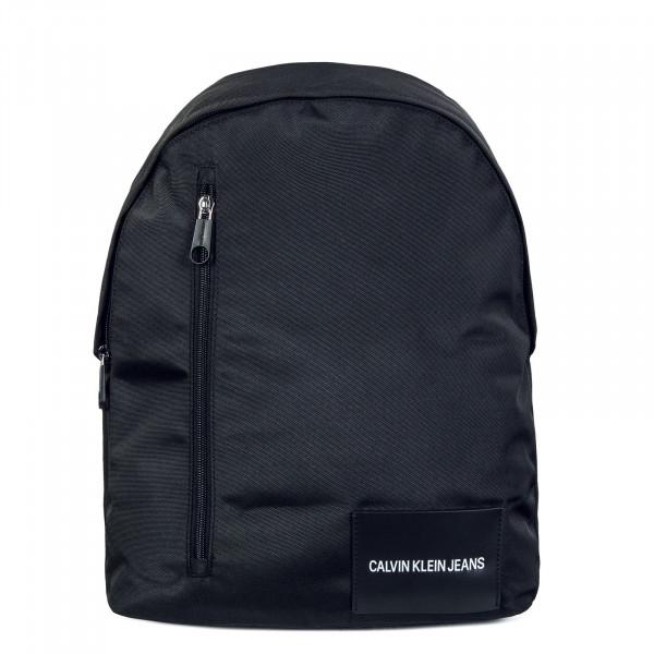 Rucksack - Round Front Zip - Black