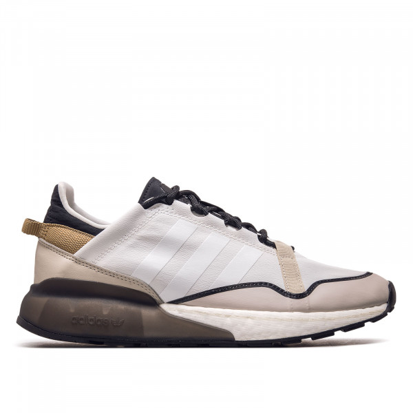Herren Sneaker - ZX 2K Boost  Pure - White / Brown