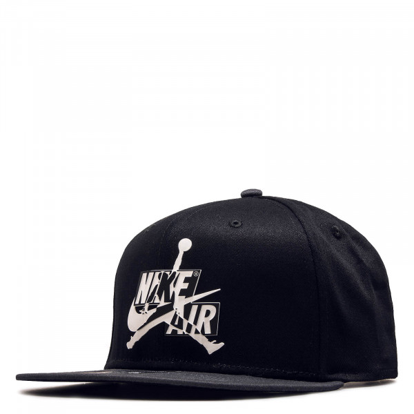 Cap Pro Jumpman CLCL Black Grey