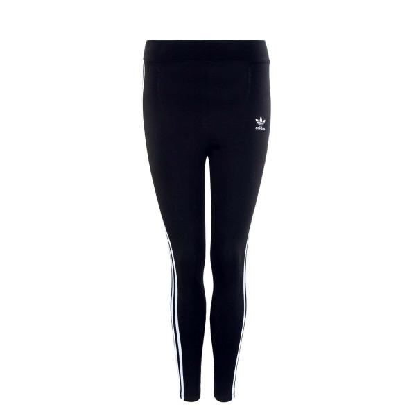 Damen Leggings - 3 Stripes - Black White