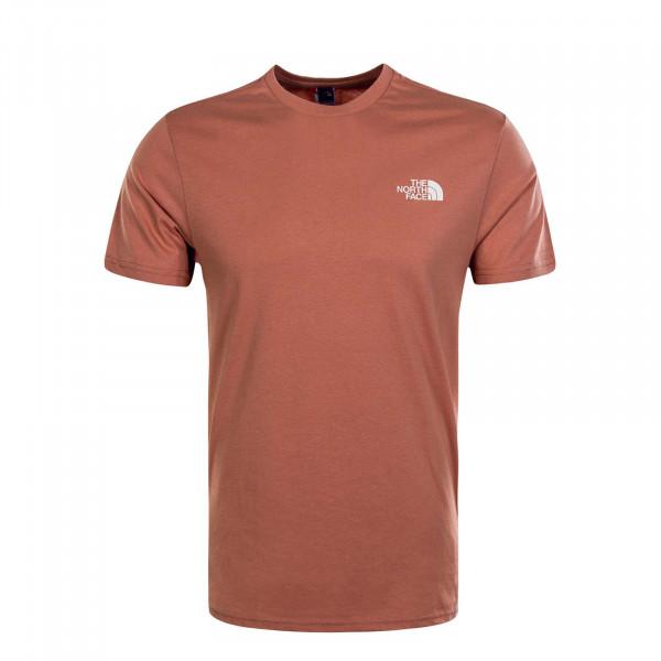 Herren T-Shirt Simple Dome Pink