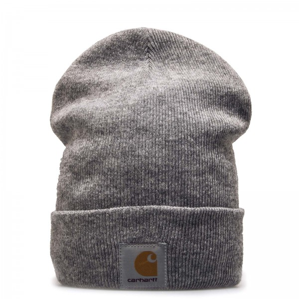 Beanie Watch Acrylic Heath Grey