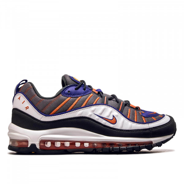 Herren Sneaker Air Max 98 White Grey Orange