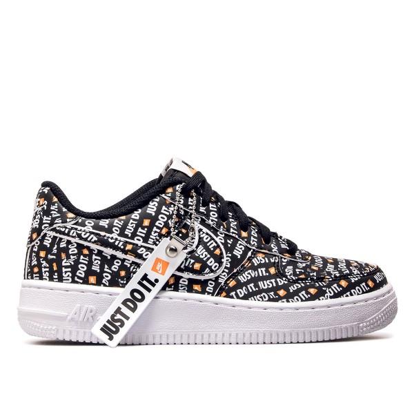Nike Wmn Air Force 1 JDI PRM Black Orang