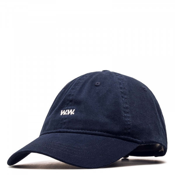 Basecap Low Profile Navy White