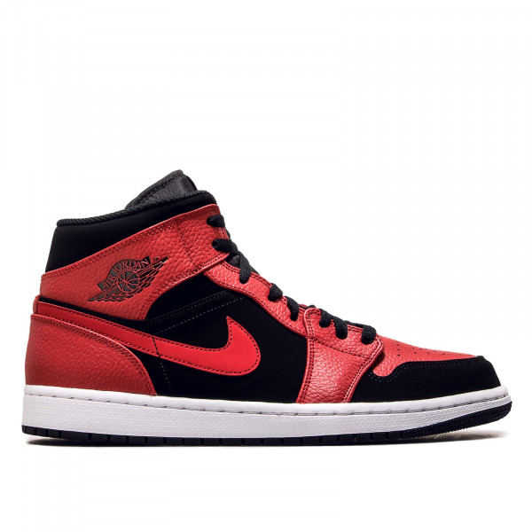 Nike Air Jordan 1 Mid Red Black