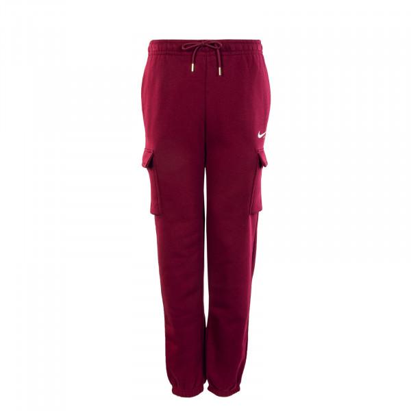 Damen Jogginghose - Cargo Pant Loose Fit - Dark Beetroot
