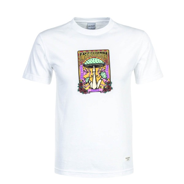 40S Shorties TS Trip Out White