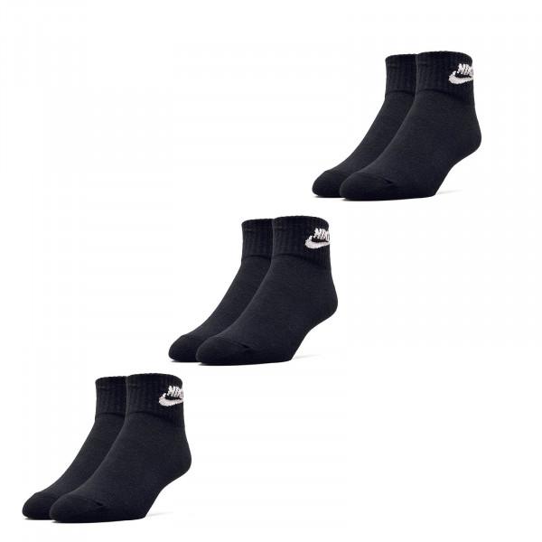 Socken 3er Pack Evry Essential Black White