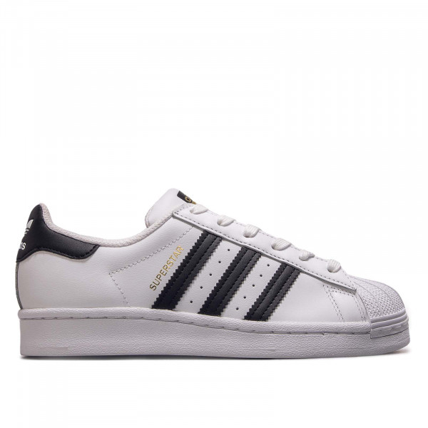 Damen Sneaker Superstar J White Black