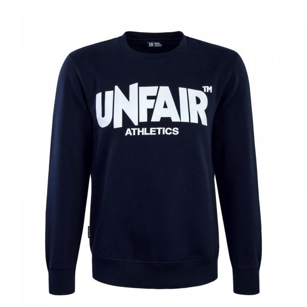 Herren Sweatshirt 073 Classic Label Navy