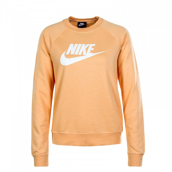 Damen Sweatshirt Essential Crewc Flc Orange
