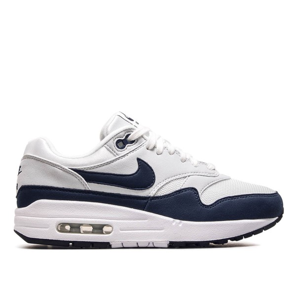 Nike Wmn Air Max 1 White Navy Grey