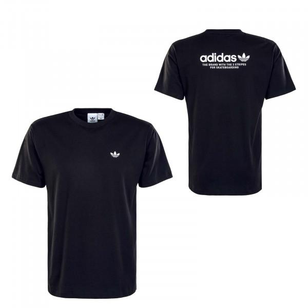 Herren T-Shirt - 4.0 Logo - Black / White