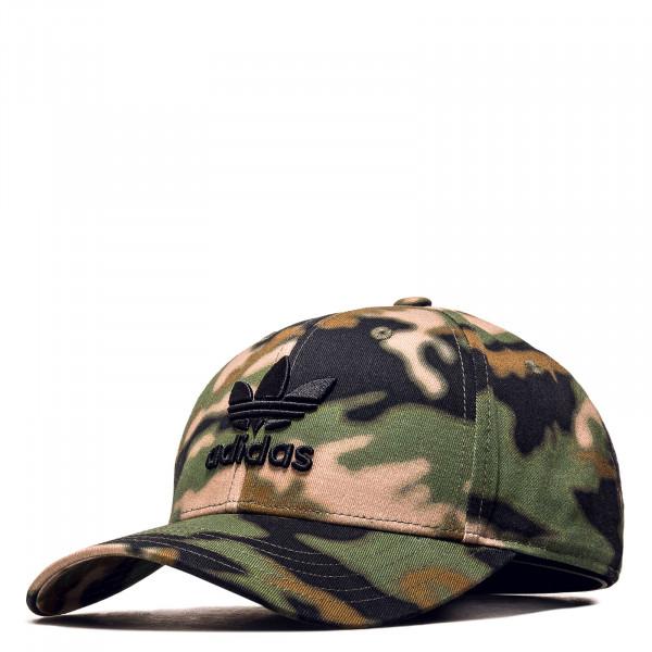 Unisex Cap - Camouflage BBall Hemp -  Black