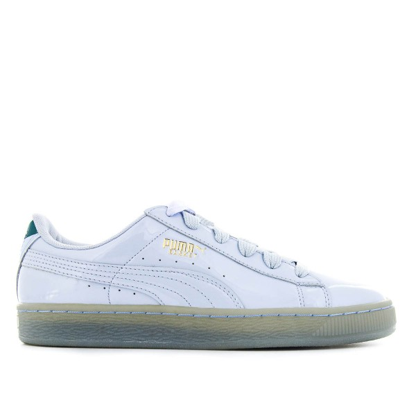Puma Wmn Careaux Basket Lack Blue
