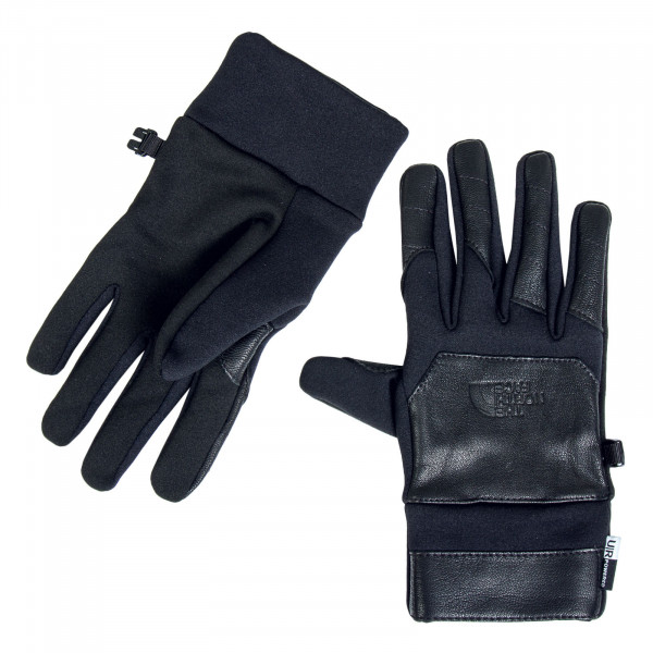 Handschuhe - Etip Leather - Black