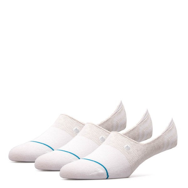 Stance Socks 3P Uncom Solids Gamut White