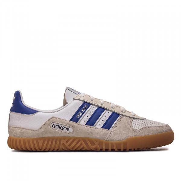 Herren Sneaker - HIndoor Comp - White / Royal Blue / White