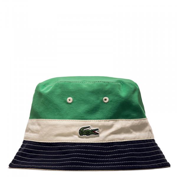 Bucket Hat - Casquette - Beige/ Blue / Marine