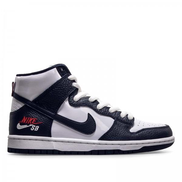 Nike SB Zoom Dunk High Pro White Navy