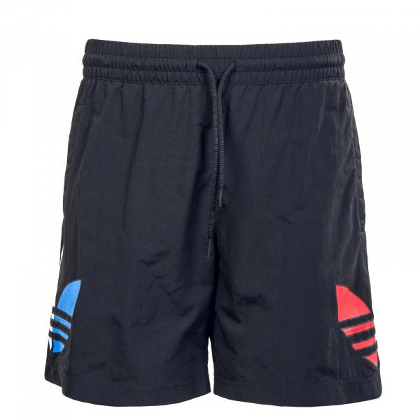 Herren Boardshort - Tricolor Swim 3568 - Black
