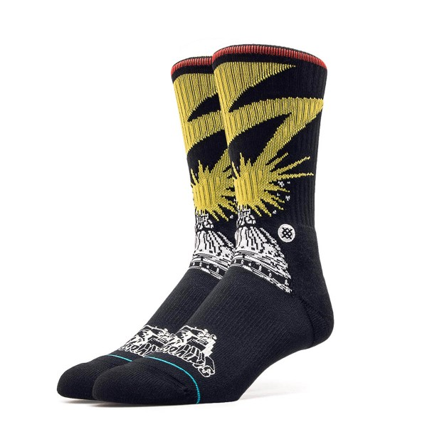 Stance Socks Foundation Bad Brains Black