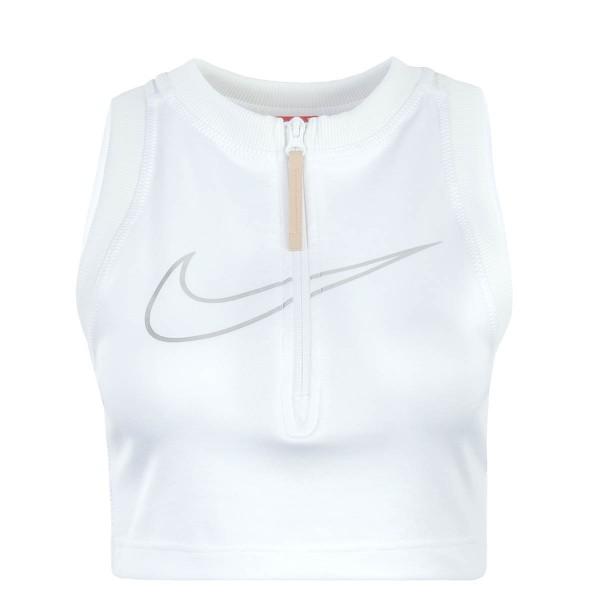 Nike Wmn Top Crop 7437 White