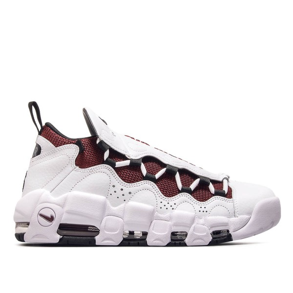 Nike Air More Money White Black Team Red
