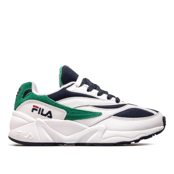 Fila Wmn Venom Low White Navy Green
