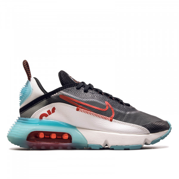 Damen Sneaker Air Max 2090 Black Red Aqua