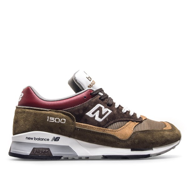 New Balance M 1500 GBG Dk Green Brown