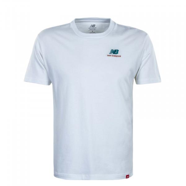 Herren T-Shirt - Essen Embr - White