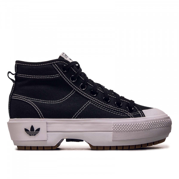 Damen Sneaker - Nizza Trek - Black / White / Gum