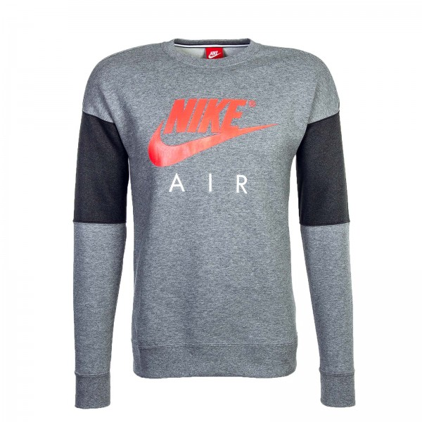Nike Sweat CRW Grey Red