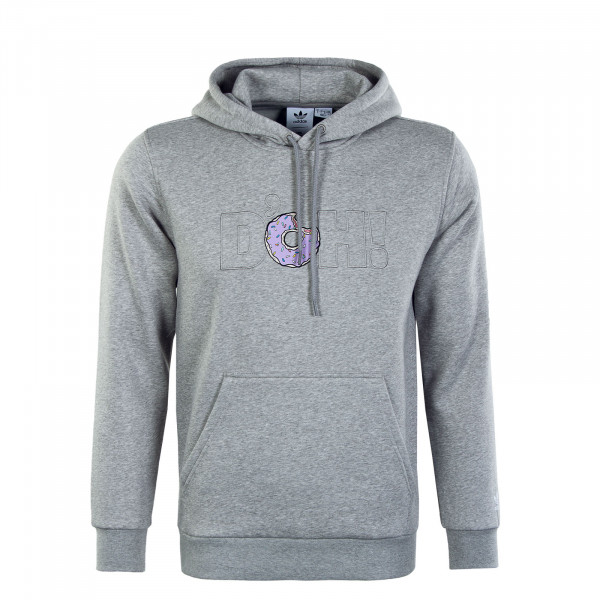 Herren Hoody - Simpsons DOH - Mgh Solid Grey