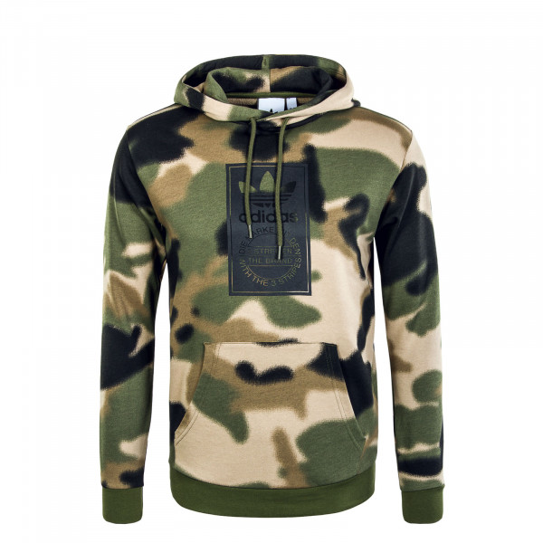 Herren Hoody - Camouflage - Wilpin / Multi / Black