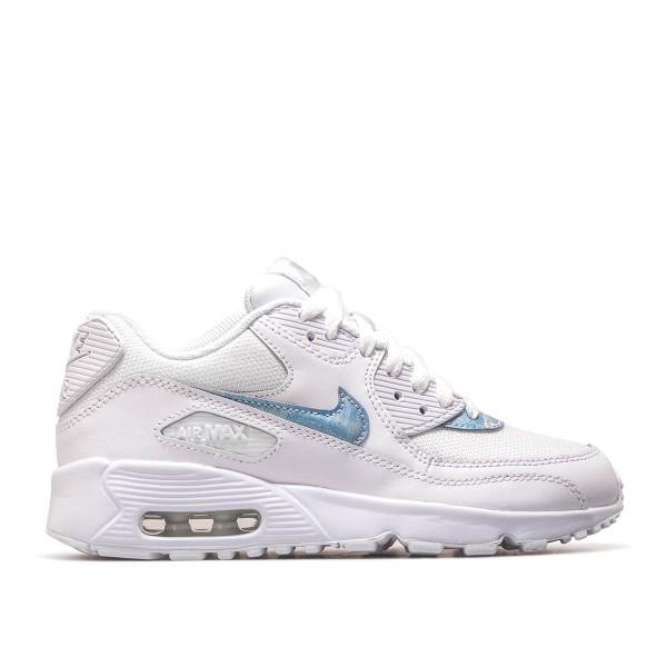 Nike Wmn Air Max 90 Mesh White Aqua