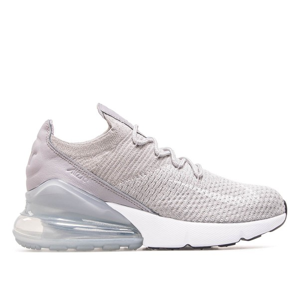 Nike Wmn Air Max 270 Flyknit Grey White