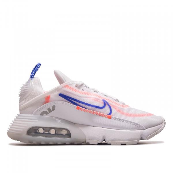 Damen Sneaker Air Max 2090 White Blue Flash Crimson