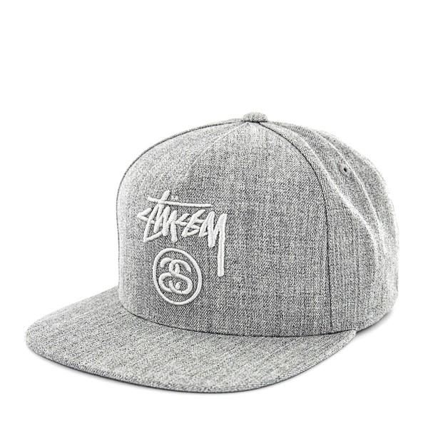 Stüssy Cap Stock Lock Grey
